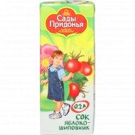 Сок «Сады Придонья» яблоко-шиповник 200 мл.