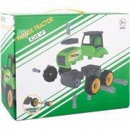 Игрушка-конструктор «Трактор с прицепом» А1362738W