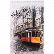 Скетчбук «Трамвай» А4, 20 листов