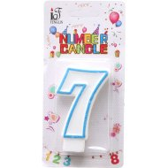 Свеча-цифра «7».
