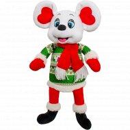 Новогодний подарок «Весельчак» меховая игрушка, 900 г.