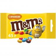 Драже «М&M's» с арахисом ,45 г.
