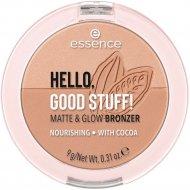 Бронзер «Essence» Hello Good Stuff! 10 Cocoa-Cool, 9 г