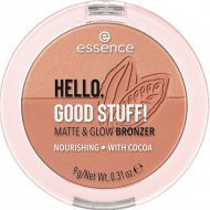 Бронзер Hello, good stuff! matte & glow bronzer, Essence, тон 20, 9 г