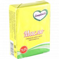 Масло сладкосливочное «Complimilk» несоленое 70%, 180 г.