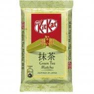 Белый шоколад «Kitkat» с зеленым чаем