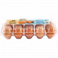 Яйца куриные «Золотые» С-1, 10 шт.