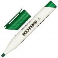 Маркер для доски «Kores» зелёный