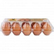 Яйца куриные «Золотые» цветные, стандарт, С-2, 10 штук.