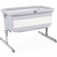 Кроватка «Chicco» Next2Me Standard Grey, 07079889470000
