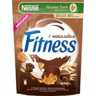 Хлопья «Fitness» из цельной пшеницы с темным шоколадом, 180 г.