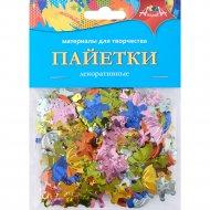 Декоративные пайетки «Мишка и зонтик»
