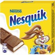 Шоколад молочный «Nesquik» с молочной начинкой 50 г.