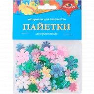 Декоративные пайетки «Василек»