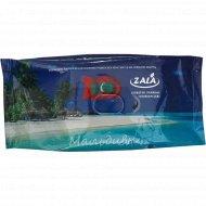 Cалфетки влажные детские Мальдивы «Zala» ZL24200, 72 шт.