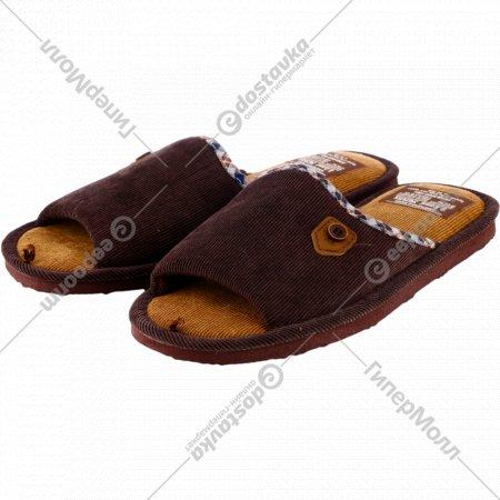 Обувь мужская домашняя «Lucky Land» 3149M-CH-O.