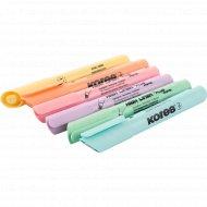 Набор маркеров текстовых «HighLiner Plus» 6 шт, пастельные, ассорти