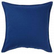 Чехол на подушку «Гурли» 50x50 см, темно-синий.
