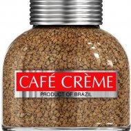 Кофе «Cafe Creme» сублимированый с добавлением натурального, 90г.