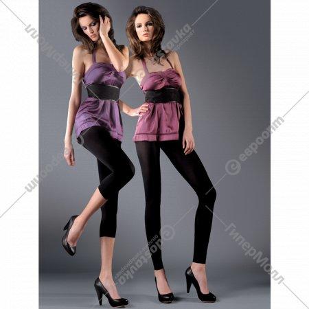 Леггинсы женские «Long» 50 den, размер 1/2, черный