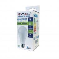 Светодиодная лампа «V-TAC» 15 Вт, 1500LM, А65, Е27, 2700К, SKU-4453.