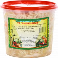 Капуста квашеная «Партизанское» с морковью и клюквой, 800 г.