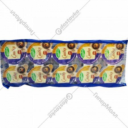 Сливки «Campina» стерилизованные порционные 10%, 10х10 г.