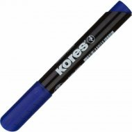 Маркер перманентный «Kores» 3.0 мм, синий