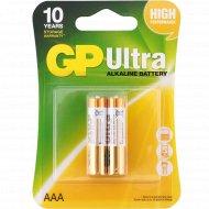Элемент питания «GP» GP24AU-2UE2, Ultra, 2 шт