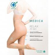 Колготки женские «Gabriella» Medica Relax 20 den, nero 3