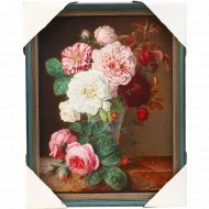 Картина печатная в рамке, РК-107, 31х24 см.