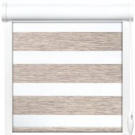 Рулонная штора «АС Март» Вудэн, 014.13, бежево-серый, 48х160 см
