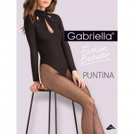 Колготки женские «Gabriella» Puntina, 20 den, размер 2, черный