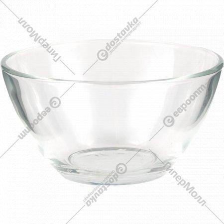 Салатник стеклянный «Гладкий» 11 см.