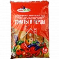Грунт питательный «Bona Agro» для томатов и перцев, 5 л.