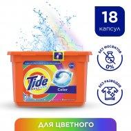 Капсулы для стирки «Tide» Всё в 1 PODs color 18 шт