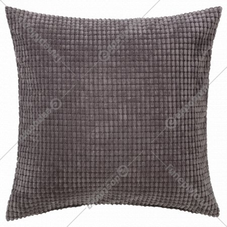 Чехол на подушку «Гулльклока» 50x50 см, серый.
