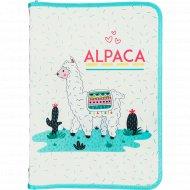 Папка для тетрадей «Путешествие альпаки» А4