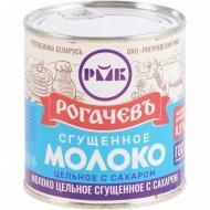 Молоко сгущенное «Рогачевъ» с сахаром, 8.5%, 380 г.