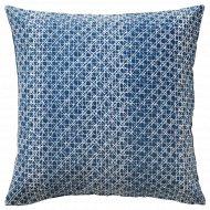 Чехол на подушку «Даггрута» 50x50 см, синий.