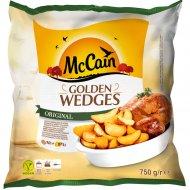 Картофель фри «McCain» золотистый, дольки в кожуре 750 г