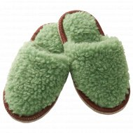 Тапочки «Феген» зеленые, размер L/XL.