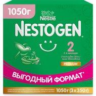 Сухая молочная смесь «Nestogen» №2, для детей с 6 месяцев, 1050 г.
