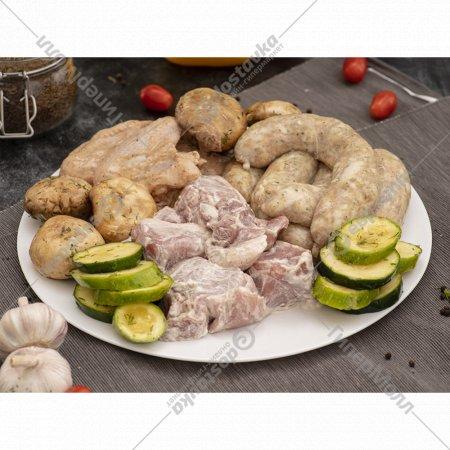 Полуфабрикат мясной «Шашлычный микс для большой компании» 4.2 кг.