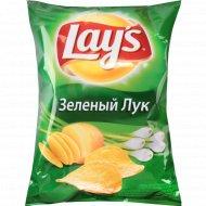 Чипсы «Lay's» со вкусом молодого зелёного лука, 80 г.