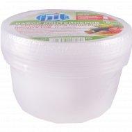 Набор контейнеров для пищевых продуктов 450 мл, 5 шт.