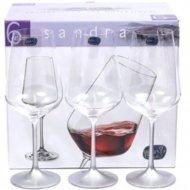 Набор бокалов для вина «Bohemia Crystal» 40728/450, 6 штук, 450 мл
