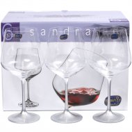 Набор бокалов для вина «Bohemia Crystal» 40728/570, 6 штук, 570 мл