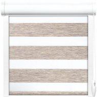 Рулонная штора «АС Март» Вудэн, 014.13, бежево-серый, 90х160 см