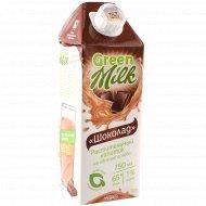 Напиток на овсяной основе «Green milk» шоколад, 1%, 0.75 л.